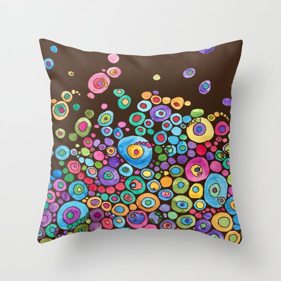 Inner Circle - Fall Throw Pillow