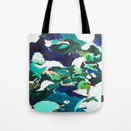 Night Pools Tote Bag