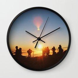 E ALA E Wall Clock
