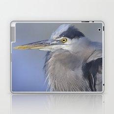 Great Blue Heron Laptop & iPad Skin