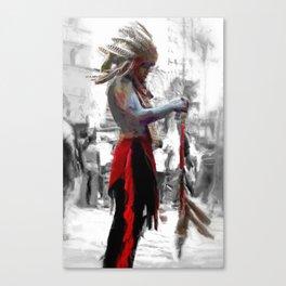 Chief Canvas Print