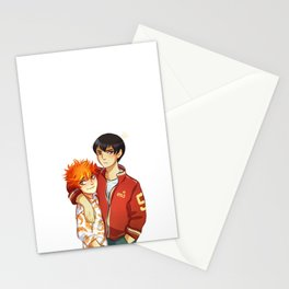King and Shrimpy Stationery Cards