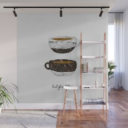 But First Tea, Tea Quote Wall Mural