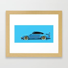 Porsche993 GT2 Framed Art Print