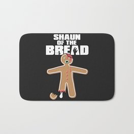 Shaun Of The Dead (Shaun Of The Bread) Bath Mat