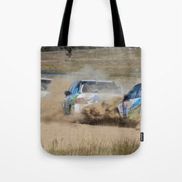 Nathan Quinn - The dust storm Tote Bag