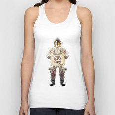Space hugs Unisex Tank Top