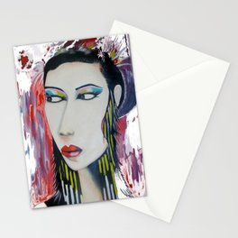 Modern Geisha Stationery Cards