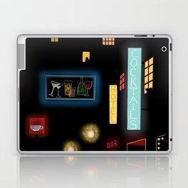 Late Night Neon Lights Laptop & iPad Skin