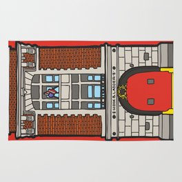 Ghostbusters Fire Station Rug