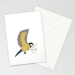 Bæremeis (Great tit carrier ?  :)   ) Stationery Cards