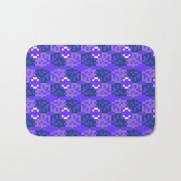 Pixelated pattern Bath Mat