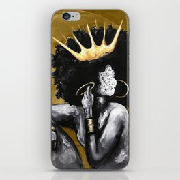 Naturally Queen VI GOLD iPhone Skin