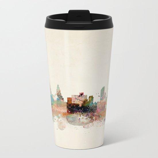 liverpool england skyline Metal Travel Mug