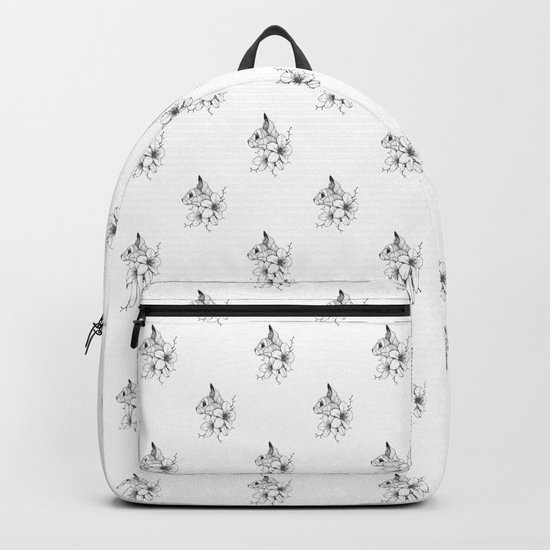 Sphynx cat & Sakura Blossoms Backpack