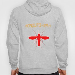 Mosquito Man Insect Comic Saying Funny Blood Super Hero Sucking Gift idea Hoody