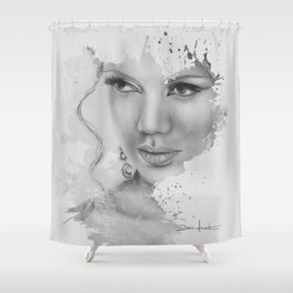 ...because of you Shower Curtain