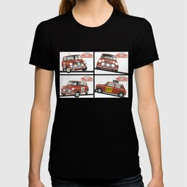 Monte Carlo Rally Mini Coopers T-shirt