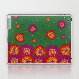 Retro Blooming Laptop & iPad Skin