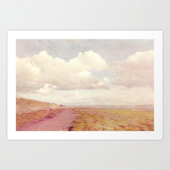 Lensbaby Seaside  Art Print