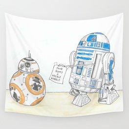 "R2D2 - "" B..Banter-M8"" Wall Tapestry"