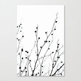 Winter Silhouettes 2 Canvas Print