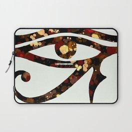 Eye of Horus - Mahogany Laptop Sleeve