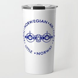 RNAF LITTLE NORWAY  - blue Travel Mug