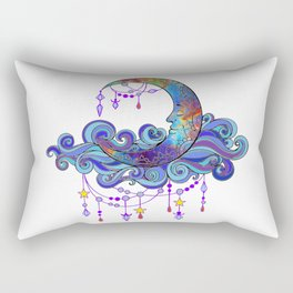 Man in the Moon Rectangular Pillow