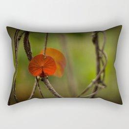 Round Leaf Rectangular Pillow