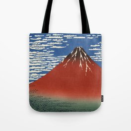 South Wind, Clear Sky (Gaifū kaisei or 凱風快晴) Tote Bag