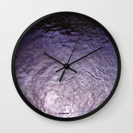 Purple Rain (Angeles National Forest) Wall Clock