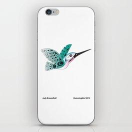 Hummingbird by: Jody Broomfield iPhone Skin