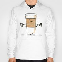 strong Hoodies featuring Strong Coffee by Picomodi