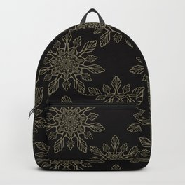 Flourish Floral Arabesque Mandalas Backpack