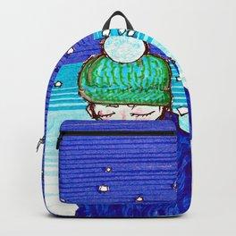 Snowy Girl Backpack