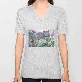 Arrietty and the Colossus Unisex V-Neck