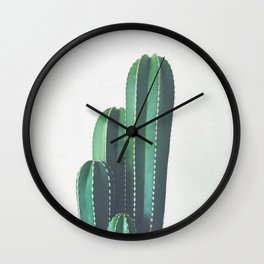 Organ Pipe Cactus Wall Clock