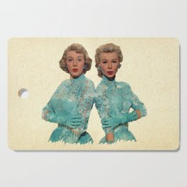 Two Different Faces... (Sisters) Cutting Board