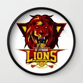 Gryfindor Lions Wall Clock