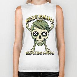 Skullet Nevermind The Negative Creep Biker Tank