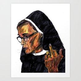 Jessica Lange Art Print