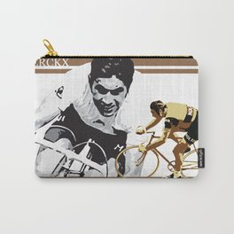 cycling legend Eddy 'The Cannibal' Merckx Carry-All Pouch