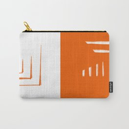 Simply Orange Lines Carry-All Pouch