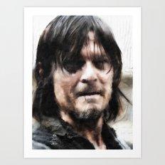 Art of the Dead: Daryl Art Print