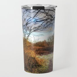 Out of the Woods and Back to the Frosty Path Travel Mug
