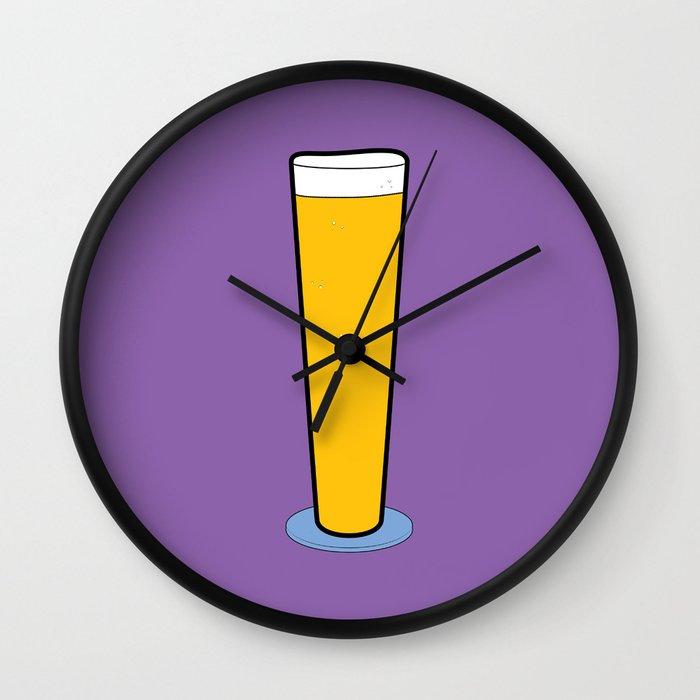 Beer Glasses (Pilsner) Wall Clock