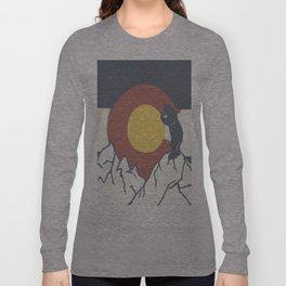 Colorado, the Big Blue Bear and the Rockies Long Sleeve T-shirt