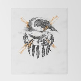 THE CROW Throw Blanket