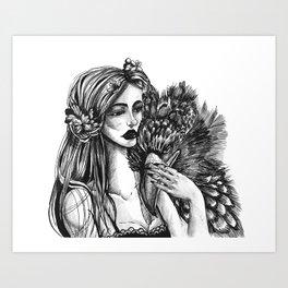 In Company Art Print
